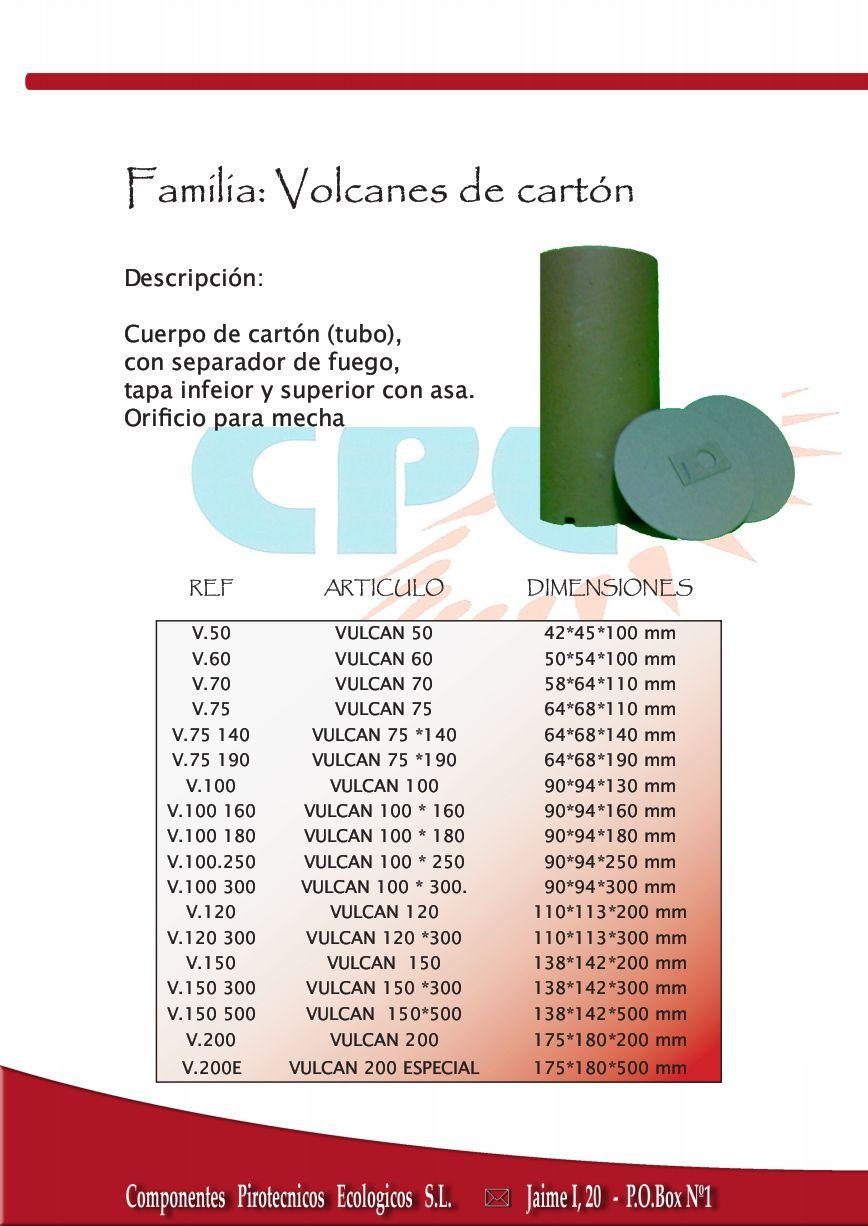 Volcanes de cartón
